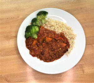 Instant pot red lentil chili