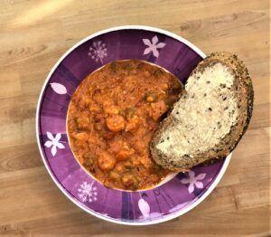 Instant pot lentil and ham soup