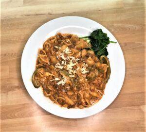 Instant pot beef pasta