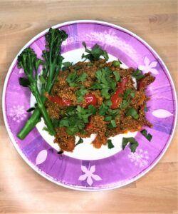 Instant pot Spanish quinoa