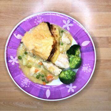 Instant pot chicken pot pie