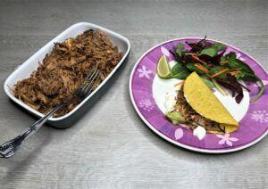 Instant pot crispy pork carnitas