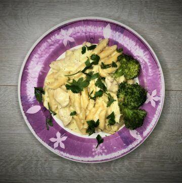 Instant pot lemon chicken pasta