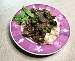 Instant pot broccoli and beef