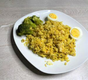 Instant pot kedgeree