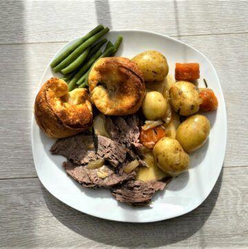 Instant pot lamb roast