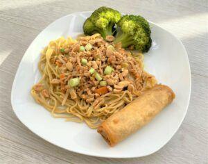 Instant pot dan dan noodles